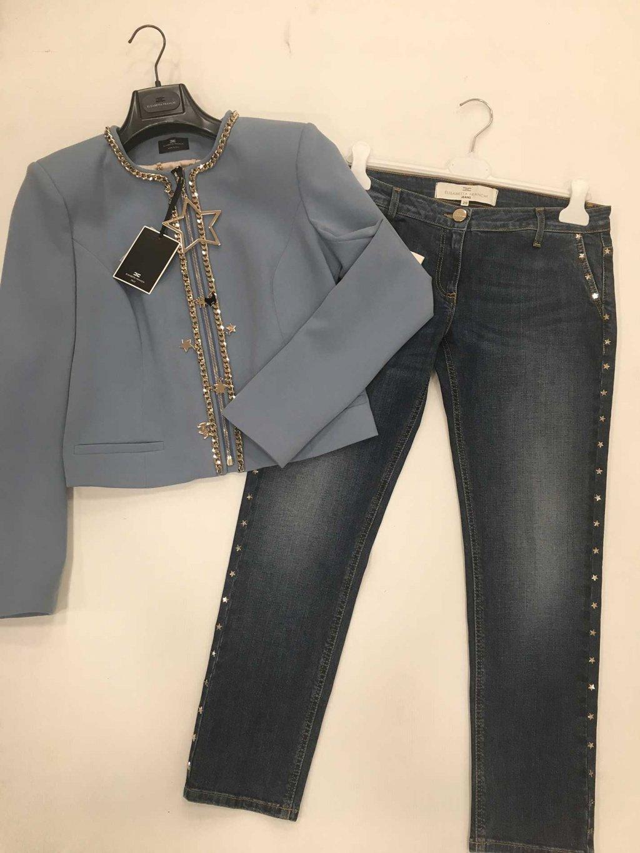 Scopri tutti i capi di abbigliamento firmati Elisabetta Franchi da donna  disponibili nel nostro Showroom in stock e all ingrosso. 4ea086918259