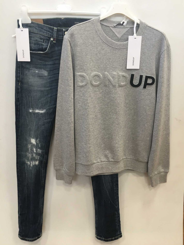 Stock Abbigliamento Firmato DONDUP Ingrosso Karma Moda